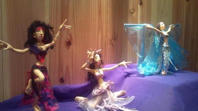 ベリーダンス人形