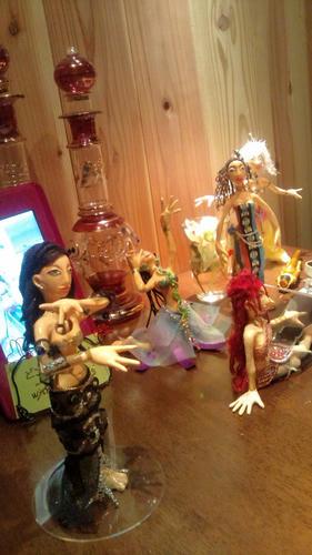 ベリーダンス人形ママ似