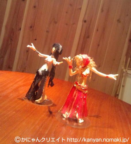 ベリーダンス人形 ふたり