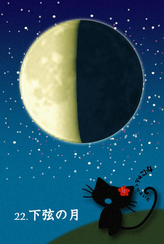00.下弦の月