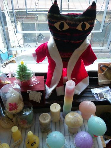 サリーさん作 猫サンタ