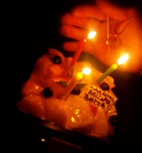 ちっちのBDケーキ