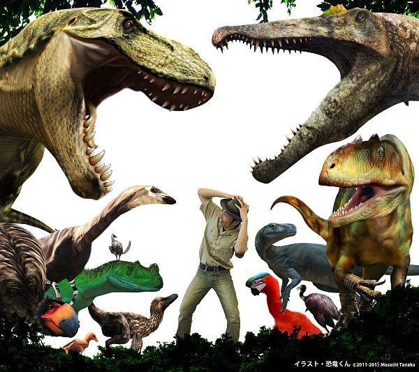 ギャラクシティ 恐竜くんトークショー『恐竜のふしぎ教えます!』