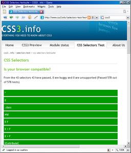 9.5 CSS3 test