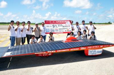 ソーラーカー世界最高速