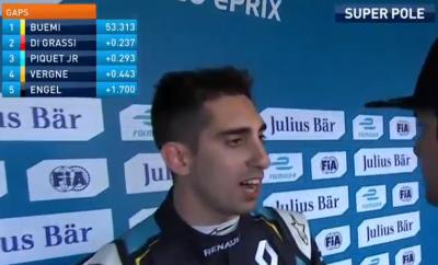 モナコePrix スーパーポール