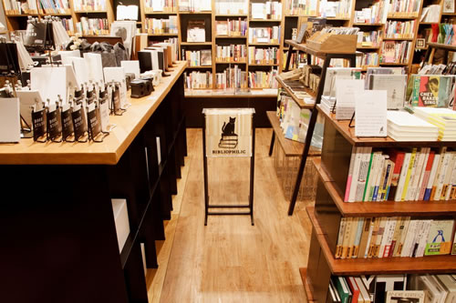 BIBLIOPHILIC & bookunion 新宿 店内