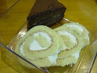 ケーキの切り口