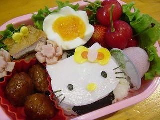 キティ☆キャラ弁