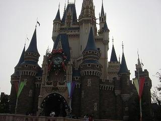 家族旅行、東京ディズニーシーシンデレラ城