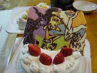 ポケモンデコケーキ