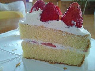 ショートケーキカット