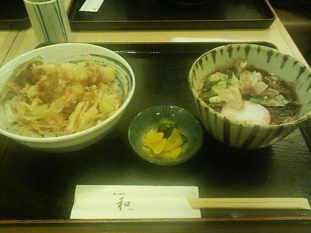 丼麺セット