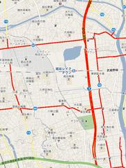 渋滞・・・