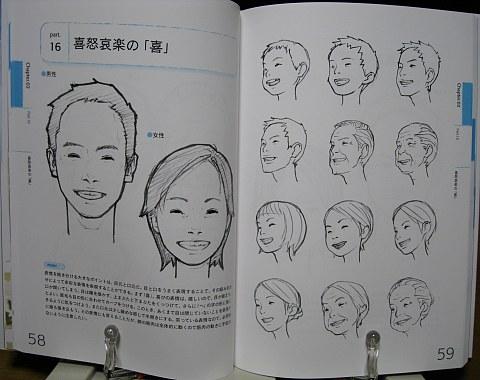 キャラクターの基本デッサン中身02