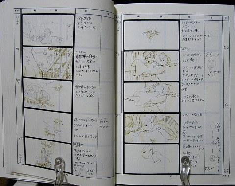 天空の城ラピュタ絵コンテ中身02