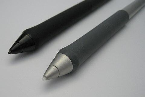 intuos4とintuos3のペン先