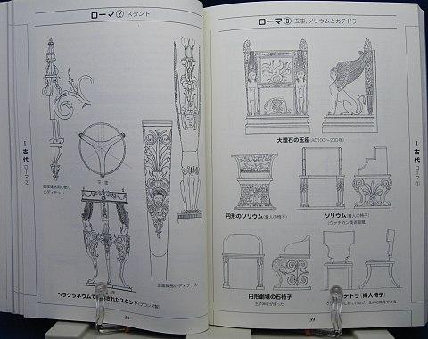 図でみる洋家具の歴史と様式中身01