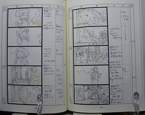 千と千尋の神隠し絵コンテ中身04