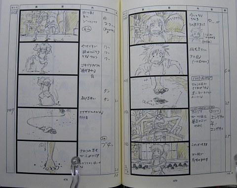 千と千尋の神隠し絵コンテ中身06