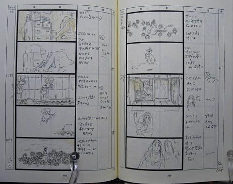 千と千尋の神隠し絵コンテ中身07