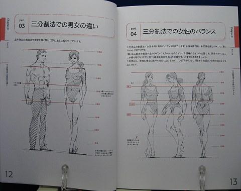 リアルなキャラクターを描くためのデッサン講座中身01