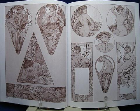 Mucha's Figures Decoratives中身04