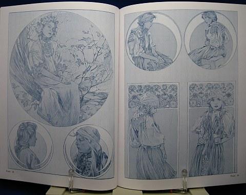 Mucha's Figures Decoratives中身05