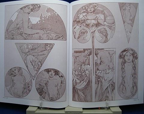 Mucha's Figures Decoratives中身06