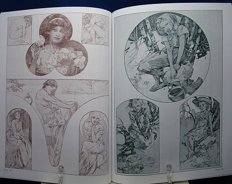 Mucha's Figures Decoratives中身07