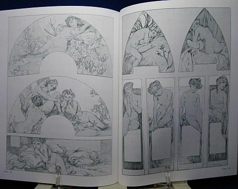 Mucha's Figures Decoratives中身08