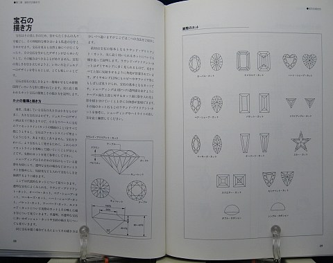 ジュエリーデザイン画を描く中身03