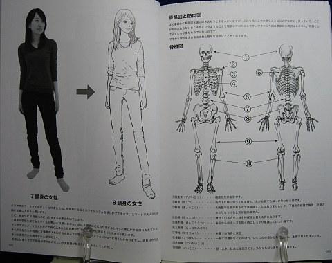パーフェクトマスターデッサン人物ポーズ編中身01