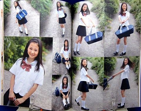 美少女マンガ&イラストで使える小中学生ポーズ集中身05