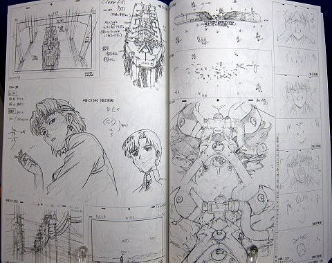 ヱヴァンゲリヲン新劇場版:破原画集下巻中身06