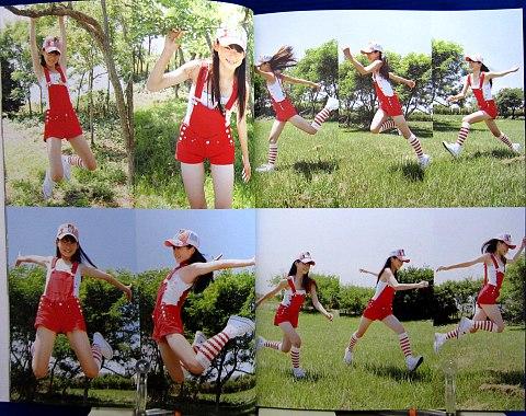美少女マンガ&イラストで使える小中学生ポーズ集純朴乙女編中身01