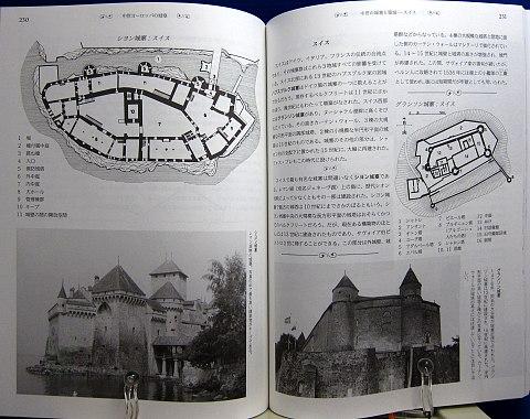 中世ヨーロッパの城塞中身09