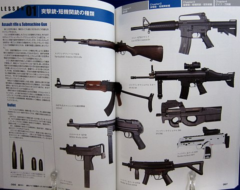 銃・ナイフ格闘ポーズスタイル図鑑中身05