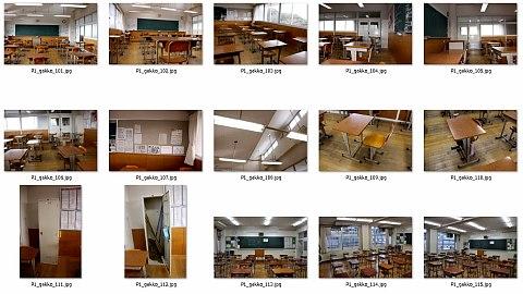デジタル背景カタログ学校編中身11DVD-ROM写真