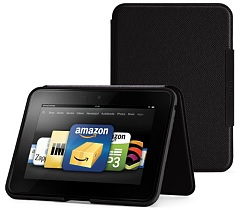 KindleFireHDスタンド型レザーカバー