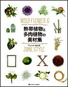 熱帯植物と多肉植物の素材集