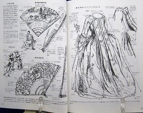図解貴婦人のドレスデザイン1730-1930年中身04
