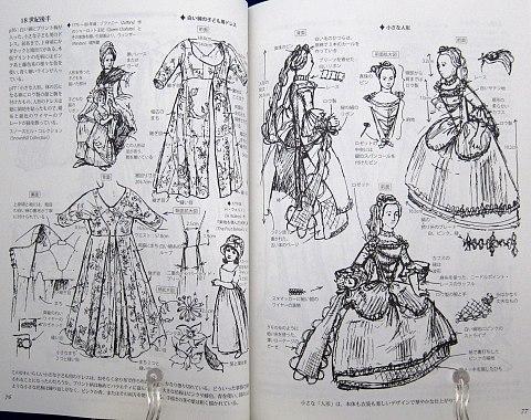 図解貴婦人のドレスデザイン1730-1930年中身05