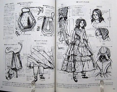 図解貴婦人のドレスデザイン1730-1930年中身07