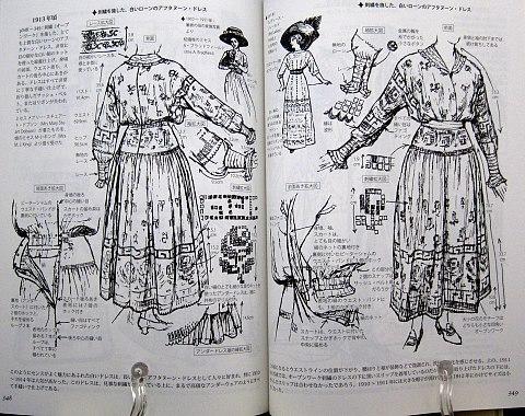 図解貴婦人のドレスデザイン1730-1930年中身09