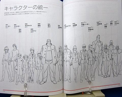 アニメキャラクターの作画&デザインテクニック中身11