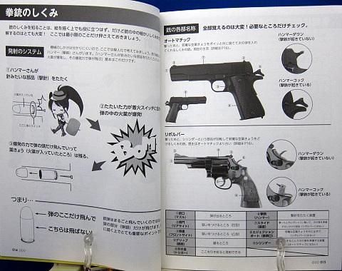 マンガのための拳銃&ライフル戦闘ポーズ集中身04