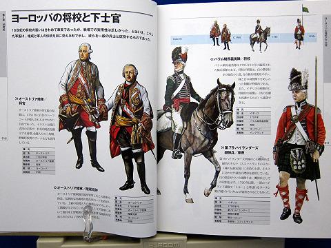 世界の軍装図鑑18世紀-2010中身01