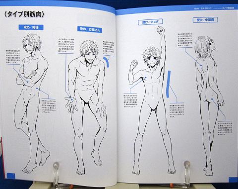 魅せる!男の筋肉を描く中身01