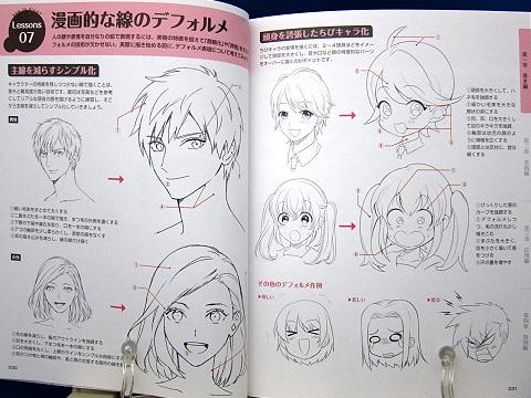 デジタルツールで描く感情があふれ出るキャラの表情の描き方中身02